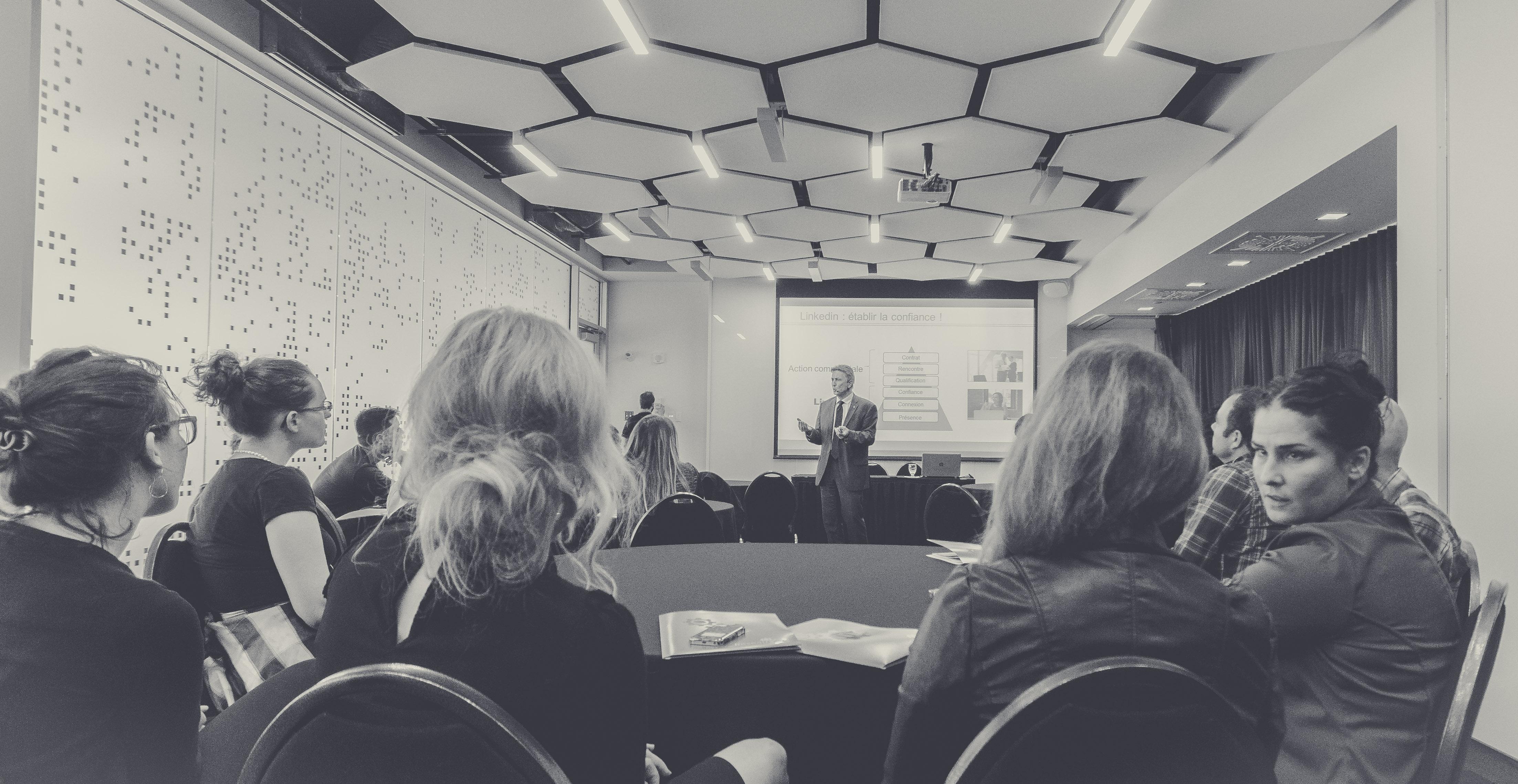 conference elevator pitch entreprneuriat